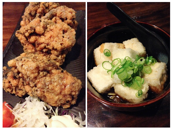 Karaage & Agedashi Tofu