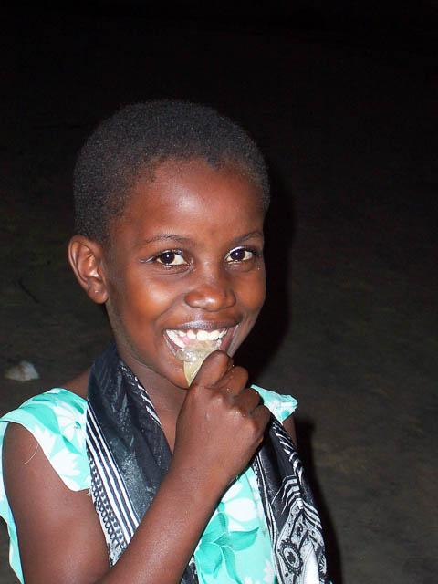 Young girl on a beach - Zanzibar, Tanzania