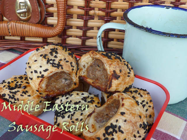 Picnic Sized Adventures – Middle Eastern Sausage Rolls