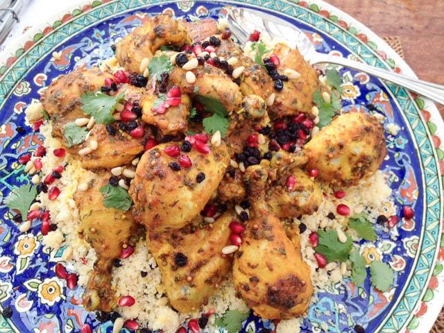 Flaxman Moroccan Chicken