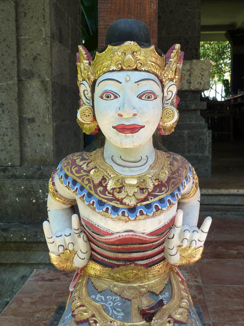 Balinese Statue - Colour