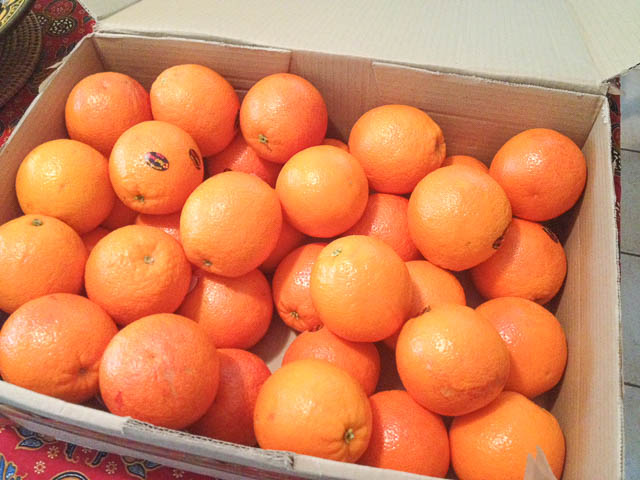 Box of Blood Oranges