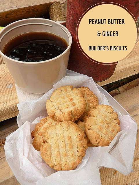 Peanut & Ginger Biscuits
