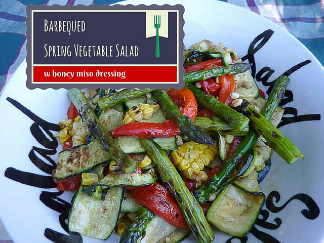Barbequed Vegie Salad