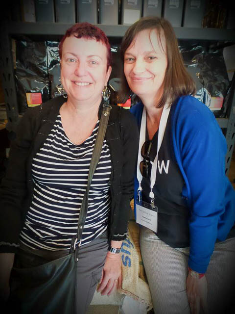 Fiona Ryan & Heather Scott at the EDB15 conference