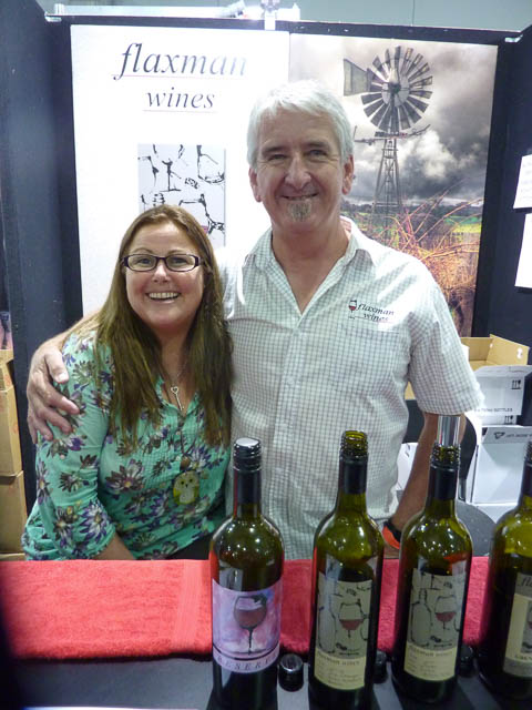 Col & Fi Sheppard from Flaxman Winery