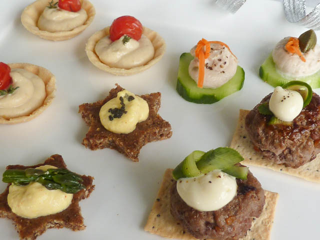 Platter of Party Canapes
