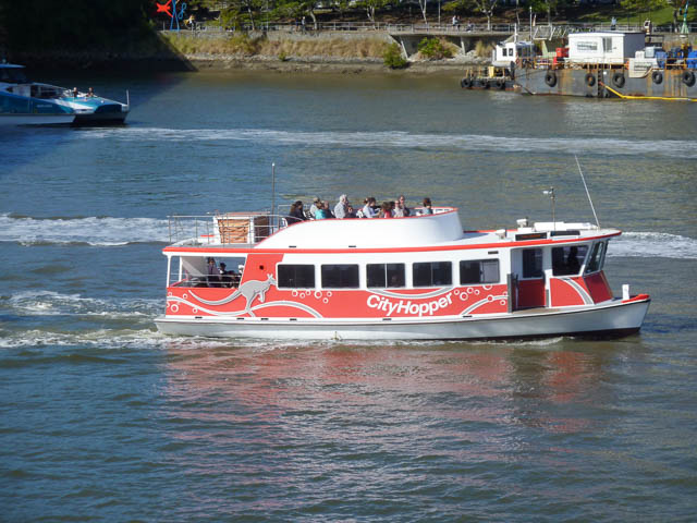Brisbane City Hopper Ferry - part of the old ferry fleet