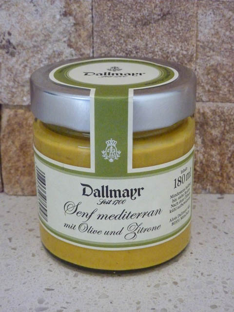Jar of Dallmayer Mustard from Munich