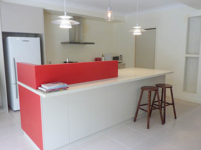Newly renovated kitchen.