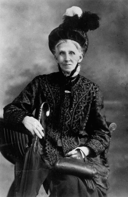 Portrait of Mrs. Emma Miller suffragette movement in Queensland. Remembered on International Women's Day.