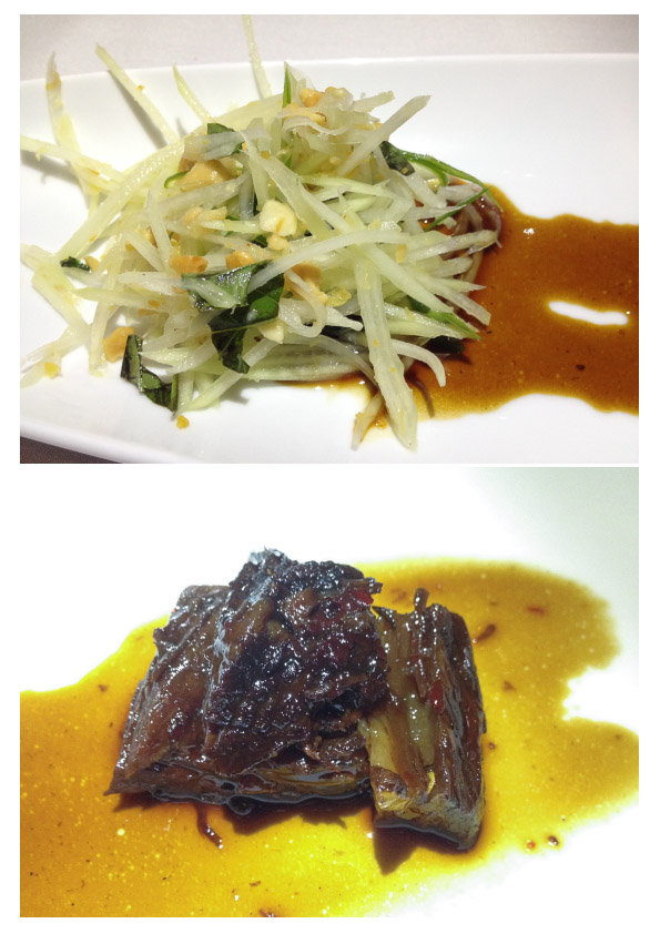 Wagyu Sticky Rib & Papaya Salad
