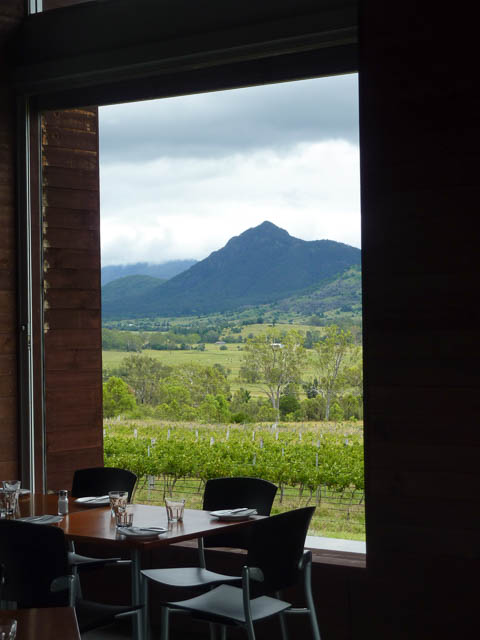 Kooroomba Estate view towards Mt Alford, Scenic Rim Qld