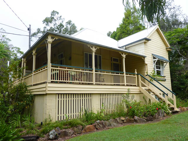 Moringararah wooden Queenslander accomodation - Mt Barney Lodge, Scenic Rim