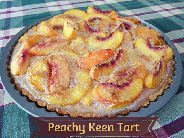 Jenna's Peachy Keen Tart Recipe