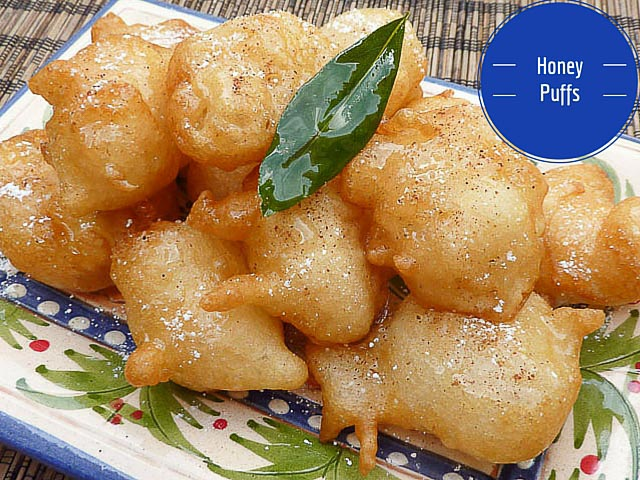 Greek Honey Puffs