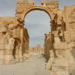Syria, Palmyra - Arch of Triumph