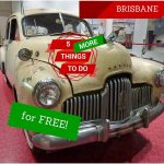 Rock'n'Roll George's 1952 FX Holden at the Qld Museum