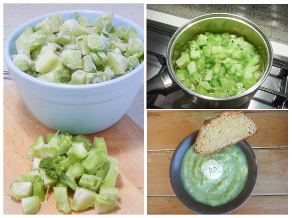 Broccoli Soup Trio