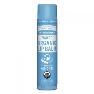 Tube of Dr Bronner Lip Balm