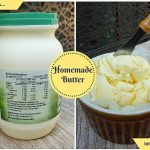 turn cream into homemade butter