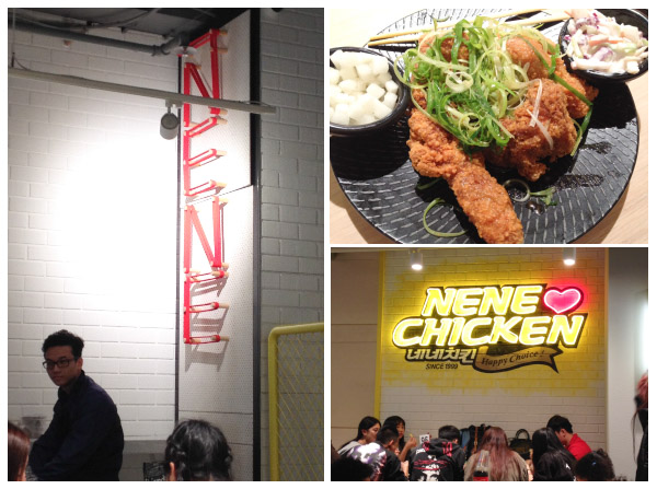 Scenes from NeNe Korean Fried Chicken restaurant