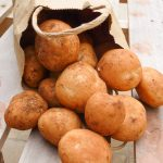 A pile of new potatoes from Wide Bay-Burnett