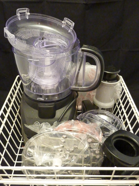 Food Processor with accesories