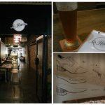 trio of scenes from Mr Henderson bar in sandgate