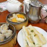 dim sum breakfast at sheung wan cooked food centre, hong kong