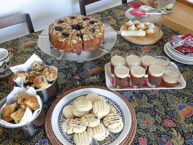 A selection of afternoon tea items for Tiffin readers