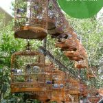 bird cages at Yuen Po St Bird Garden in Hong Kong