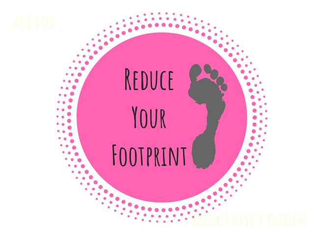 reduce your footprint logo