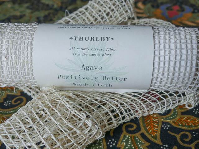 washcloths made from woven agave fibre
