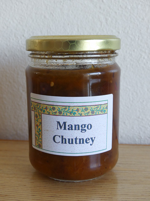 jar of mango chutney